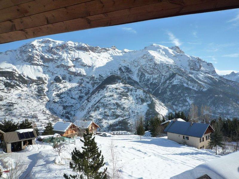 Appartement familial en pleine montagne. Parc des Ecrins, location de vacances à Vallouise-Pelvoux