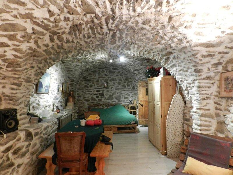 Studio dans une cave voûtée, vacation rental in Celliers