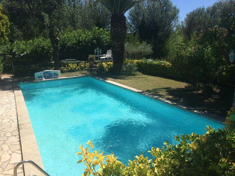 Grande villa arborée piscine spa jacuzzi 8 places arboré sans vis-à-vis – semesterbostad i Domazan