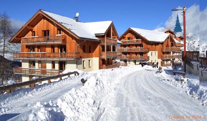 STATION DE SKI LES ORRES 1800, Ferienwohnung in Les Orres