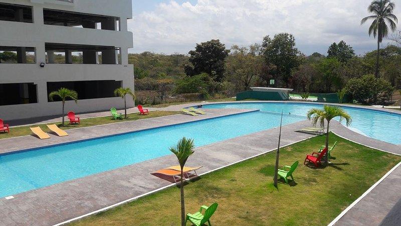 APARTEMENT BORD DE MER. MAGNIFIQUE VUE. PANAMÁ OESTE. PLAYA CORONA, holiday rental in El Valle de Anton