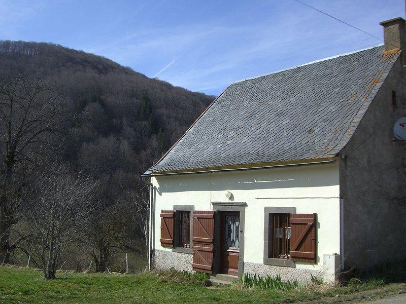 Maison de campagne dans une vallée à 12 km de BESSE. Remb si 2ème vague, holiday rental in La Godivelle