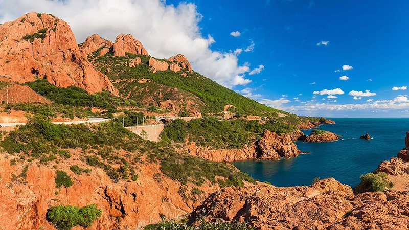 Esterel massif accessible on foot from the house