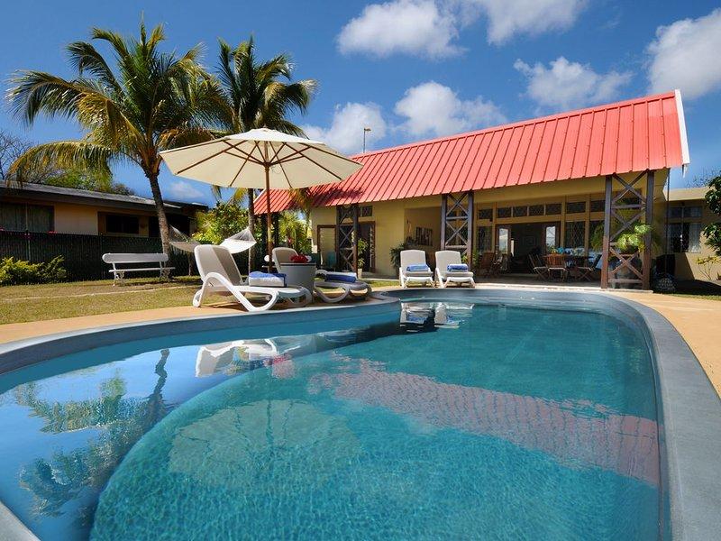 Villa située dans un endroit de rêve en bord de mer à Cap Malheureux., location de vacances à Cap Malheureux