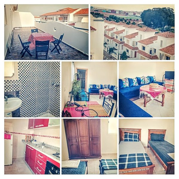 Bel appartement dans une jolie ville: Asilah au Maroc, vacation rental in Schwetzingen