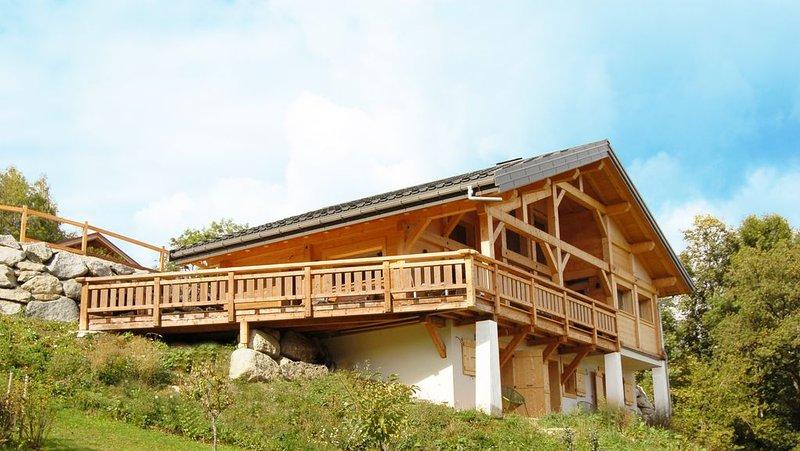 Chalet familial neuf calme et spacieux Elisa Jane's, location de vacances à Saint-Gervais-les-Bains