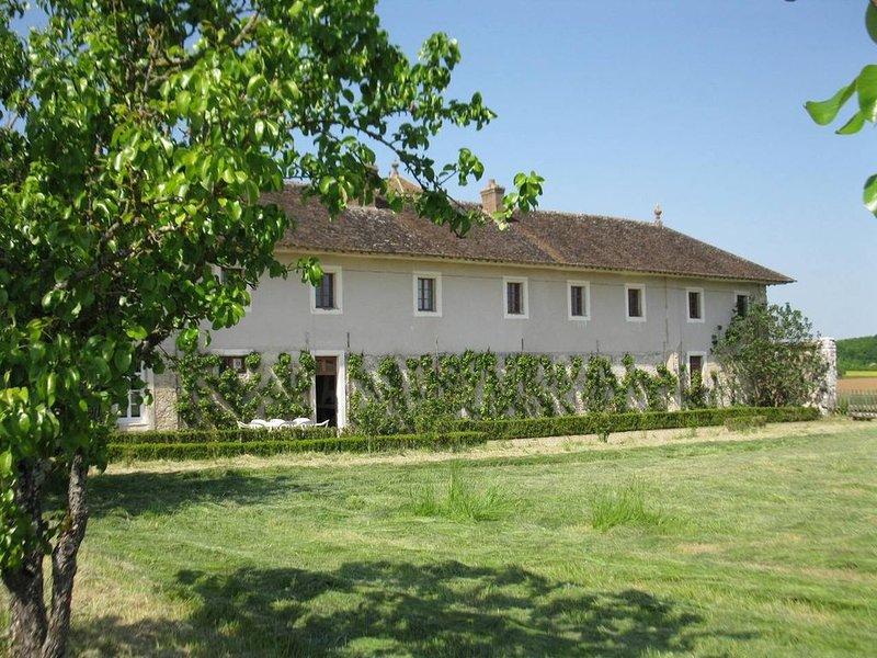 la Maison du Jardin, gîte 9 personnes, vacation rental in Vernou-la-Celle-sur-Seine