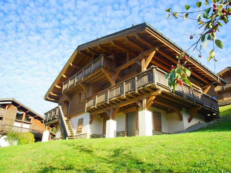 Superbe chalet à Megève, 5CH, 4 SDB, proche centre et remontées mécaniques, alquiler vacacional en Megève