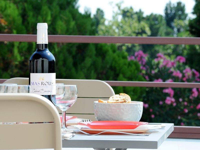 Gîte au coeur de vignes - Muscat, holiday rental in Villelongue-dels-Monts