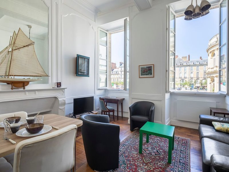 L'Annexe - Une Chambre Appartement, Couchages 4, vacation rental in Rennes