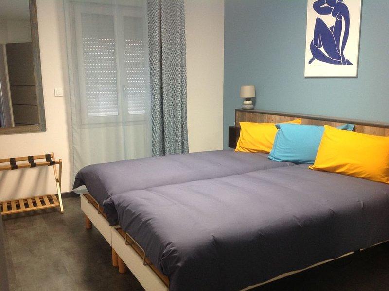 PAVILLON T3 meublé sur terrain clos, holiday rental in Sezanne