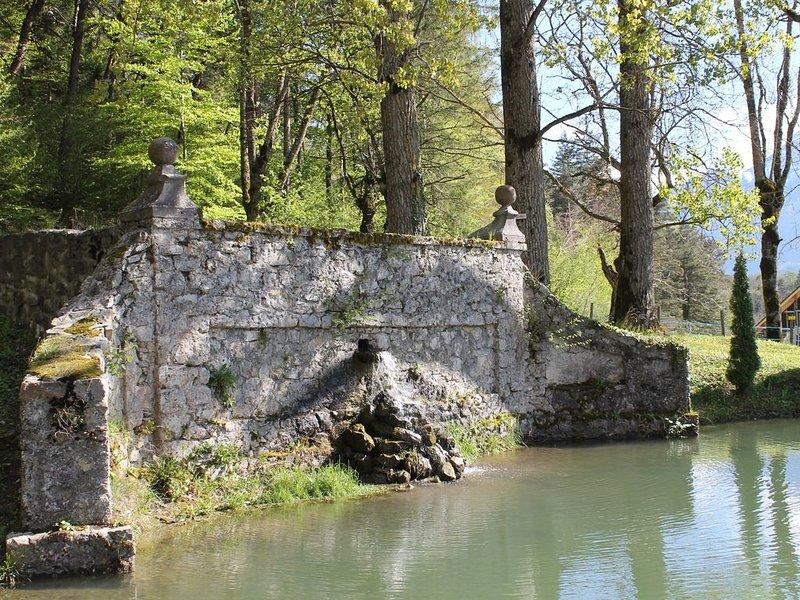 T2 terrasse et jardin entre Champsaur et Valgaudemar Massif des Ecrins, holiday rental in La Motte-en-Champsaur