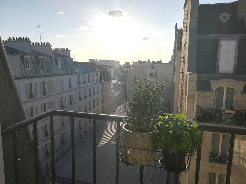 Charmant et typique appartement parisien, location de vacances à Clichy