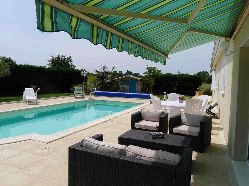 MAISON tout confort avec piscine privée et grand jardin paysagé, holiday rental in Montpellier de Medillan