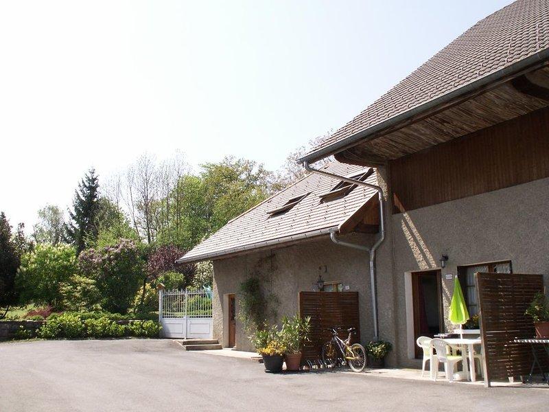 Escale du Château de Promery 3***, holiday rental in Sillingy