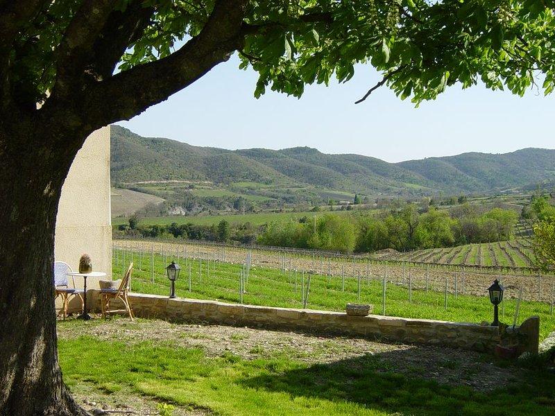 Soleil en sud Ardèche, holiday rental in Gras