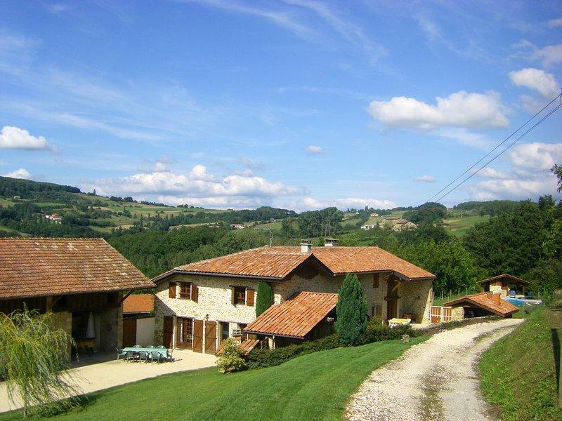 Retrouvez vous à la campagne en famille ou entre amis, holiday rental in Charmes-sur-l'Herbasse