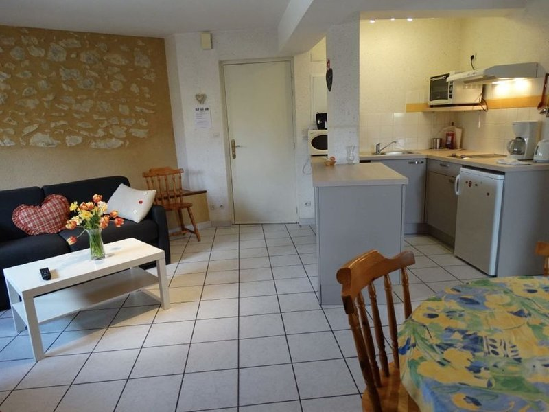 Le Moulin du Pont-Appartement 2, holiday rental in Saint-Victor