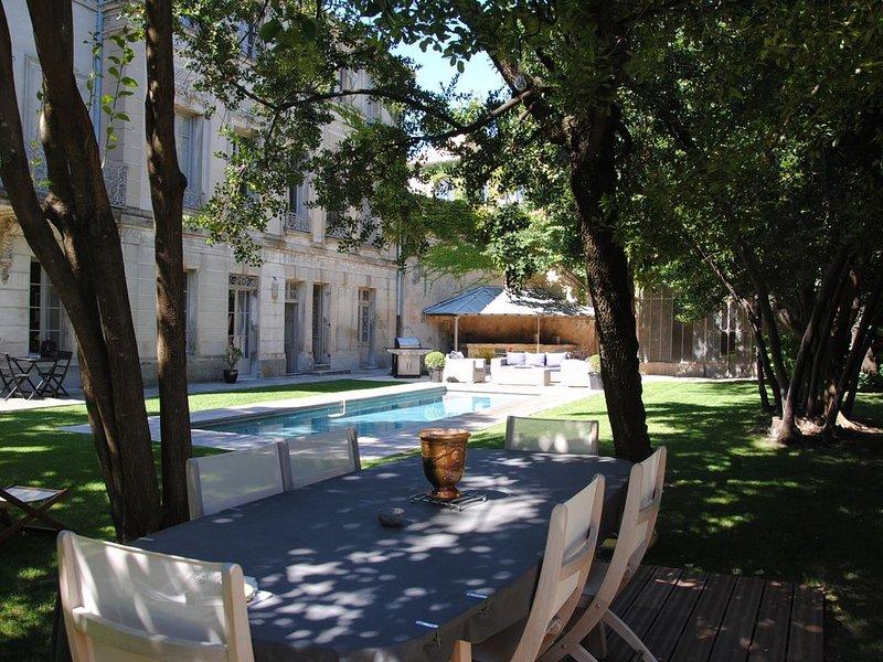 Les Jardins de Marze- Gîte, vacation rental in Carpentras