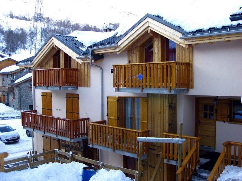 Chalet Mil'Ans sur la commune de Saint Martin de Belleville, holiday rental in Levassaix