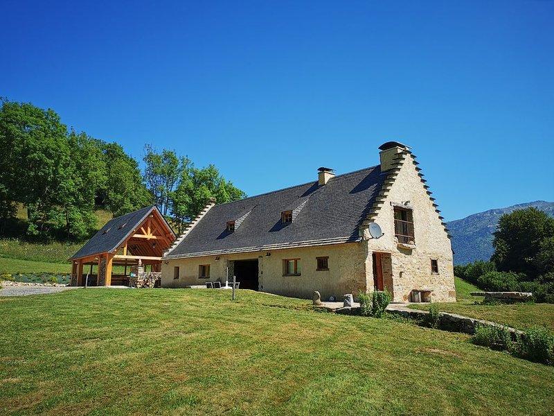 Bergerie des 3 Sources  dans un environnement exceptionnel  le Sarrat de bon, location de vacances à Hautes-Pyrenees