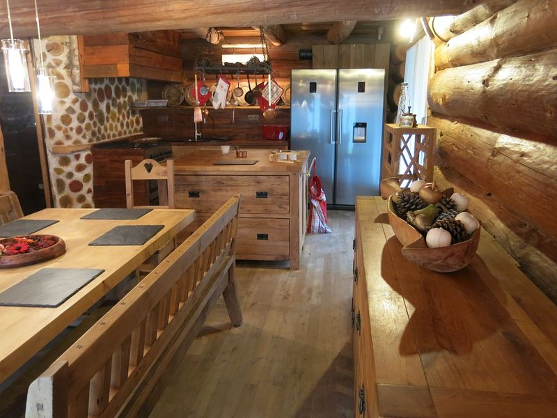 Le domaine Buckey Lodge,chalet de standing,charme, confort et ambiance raffinée, holiday rental in Bruyeres
