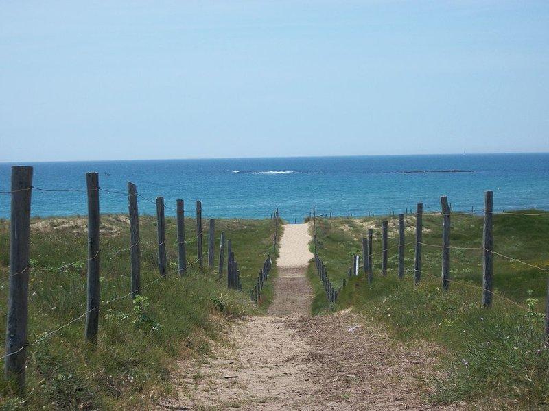 Brétignolles sur Mer, quartier 'les dunes', à 350m des plages, aluguéis de temporada em Bretignolles Sur Mer