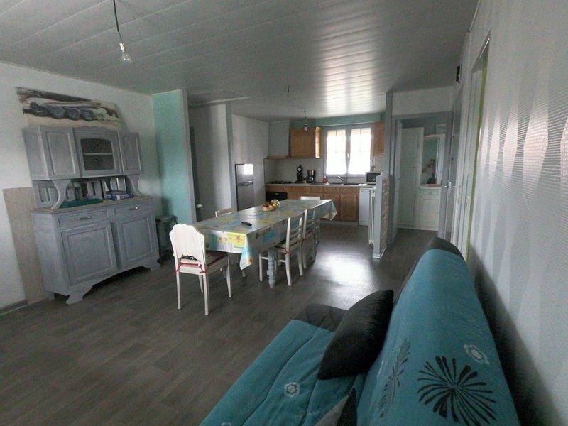 Etage d'une maison individuelle, proche plage, location de vacances à Pas-de-Calais