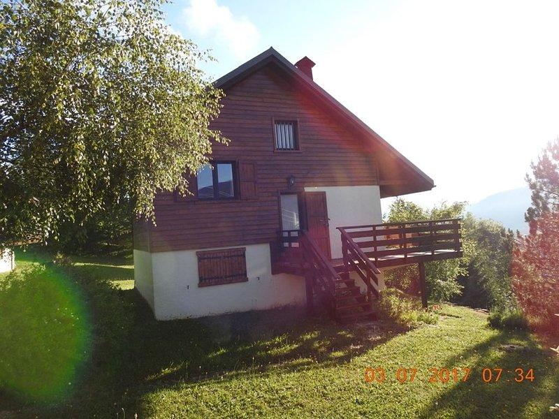 loue chalet tout confort 6  personnes, location de vacances à Saint-Julien-en-Vercors