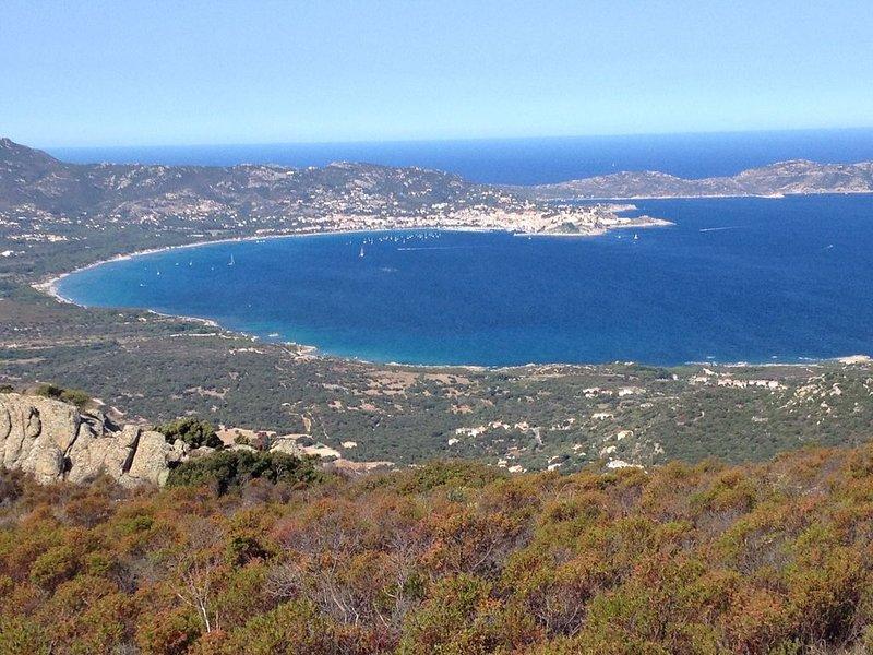 Entre Mer et Montagne, Ferienwohnung in Moncale