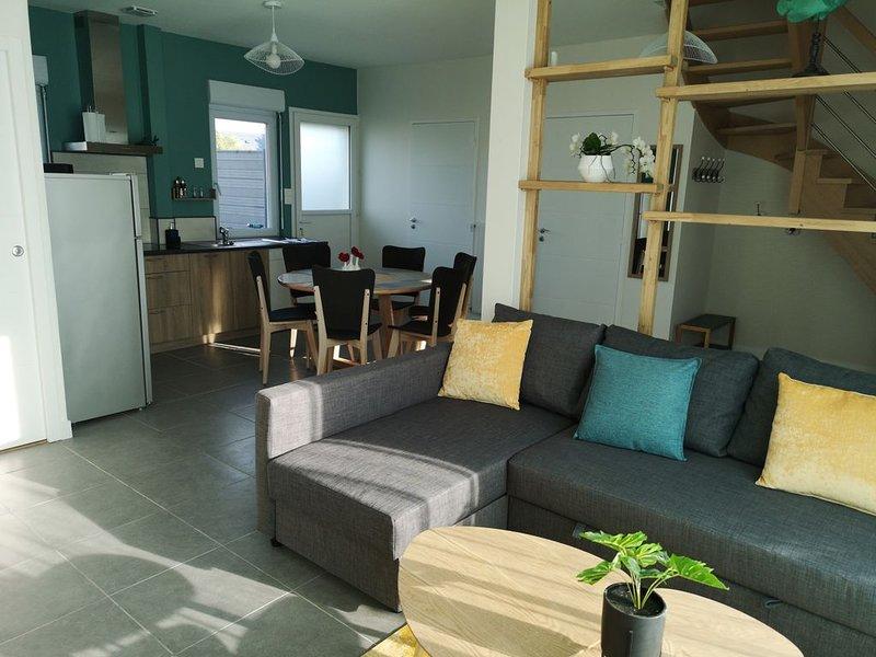 Maison de vacances avec jardin, holiday rental in Saint Andre des Eaux