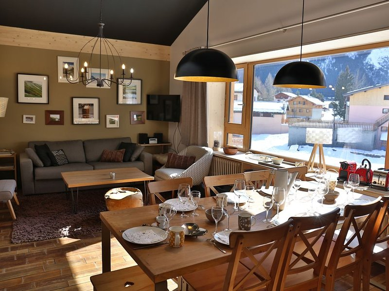 Appartement 7/9 personnes Chalet L CORTI, holiday rental in Pralognan-la-Vanoise