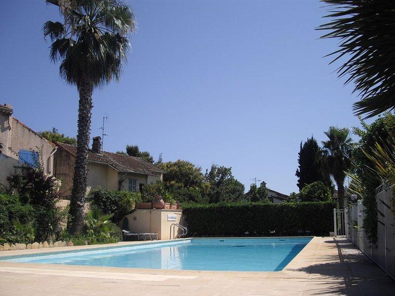 Appartement 'La Nautique II' avec piscine, 5 minutes à pied des plages – semesterbostad i Mandelieu-la-Napoule