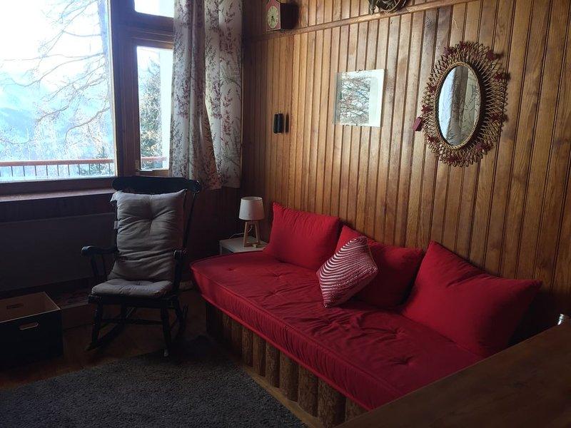 Dupleix familial tout confort vue montagne, location de vacances à Orcières