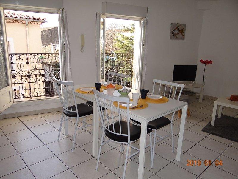 Appartement idéalement situé, vacation rental in Meze