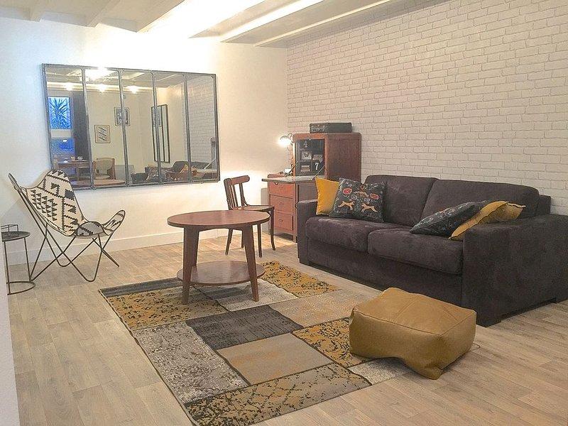 Spacieux appartement de style en centre ville, holiday rental in Toulouse