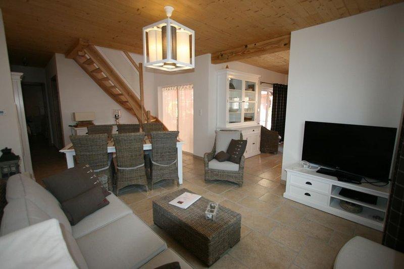 LES AUTHENTICS - LE SECHOIR - Le Domaine d'Autrefois & Spa **** Duplex 6 Pers, holiday rental in Benfeld