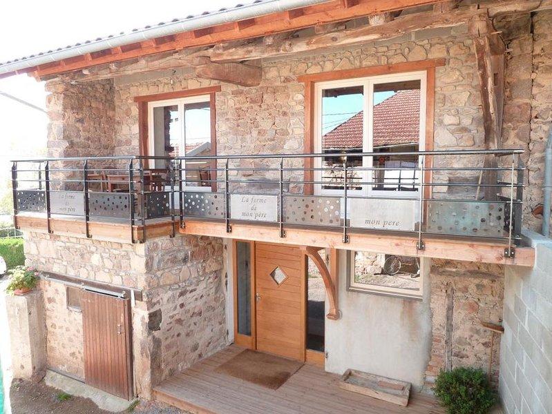 LA FERME DE MON PERE- LE CHARME DE LA CAMPAGNE, holiday rental in Bois-Sainte-Marie