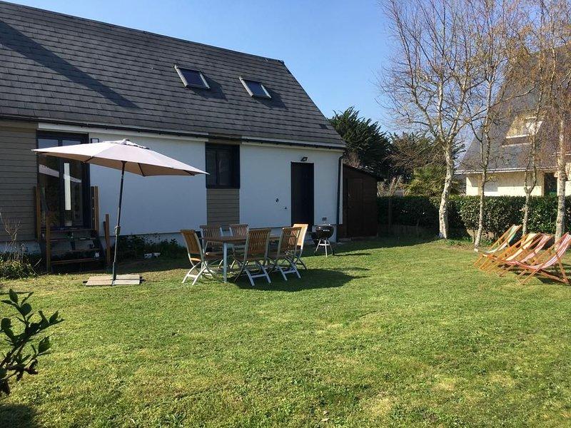 maison de vacances avec beau jardin Le pouliguen 85m carré, vacation rental in Loire-Atlantique