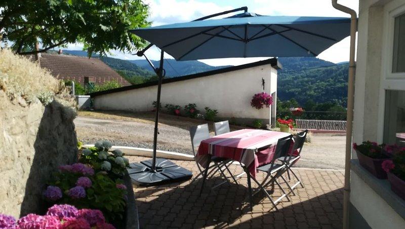 Grande maison familliale meublée, holiday rental in La Croix-aux-Mines
