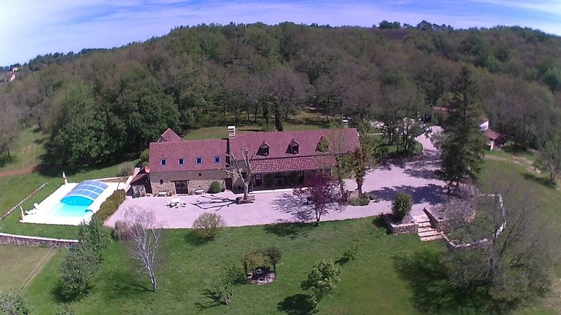 Domaine du Pech Cujoul, vacation rental in Gourdon