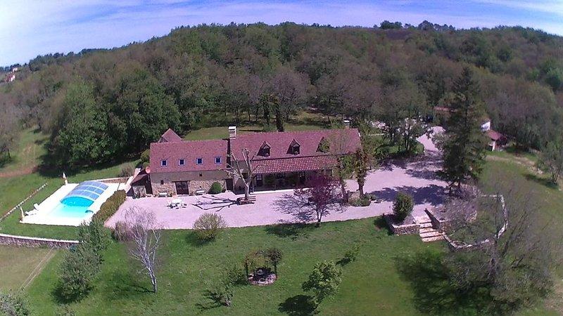 Domaine du Pech Cujoul, location de vacances à Saint-Aubin-de-Nabirat