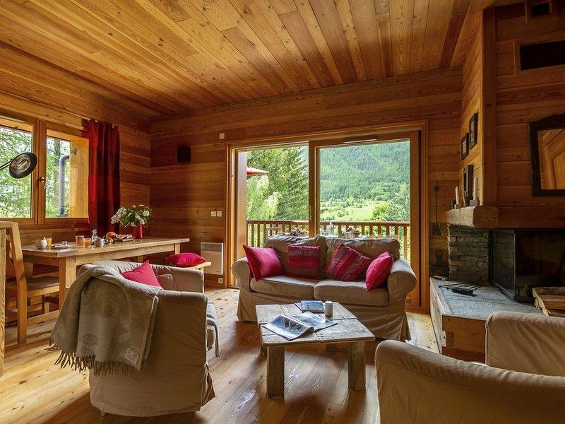 La Cabane de Serre-Chevalier, dans un esprit chalet, commune de Le Monêtier-les-, location de vacances à Le Monetier-les-Bains