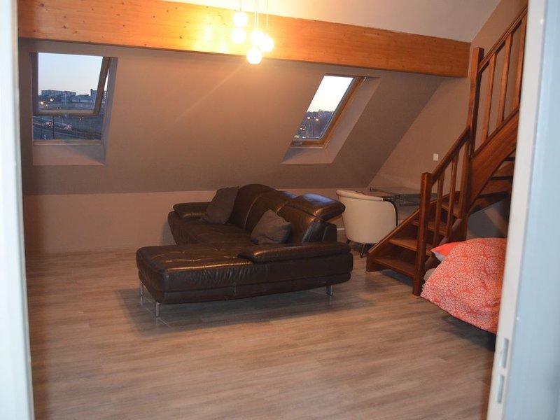 Bel appartement proche centre-ville + Garage fermé, vacation rental in Amiens