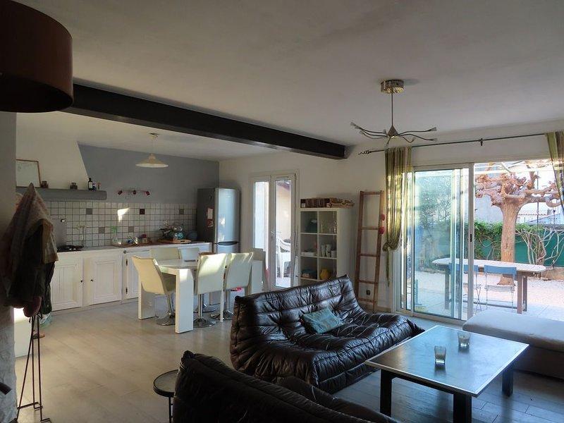 Villa de vacances à La Crau entre Hyères et Toulon, holiday rental in Sollies-Pont