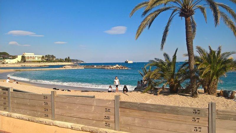 3 pièces en rez- de- jardin proche frontière Monaco, vacation rental in Beausoleil