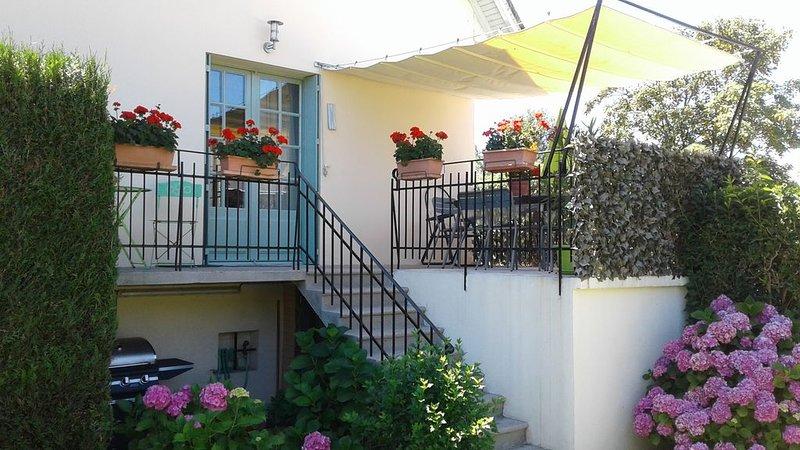 Maison  L'ESTIVALE  au bord du Lot à Espalion, holiday rental in Montpeyroux