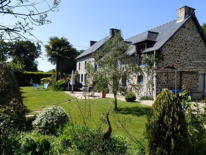 Chambre d'hôtes Océane près de St Malo, Dinan, Mont St Michel, holiday rental in Meillac