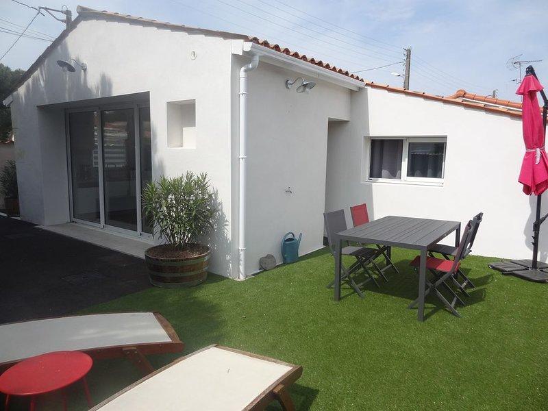Maison neuve à la Tremblade, vacation rental in La Tremblade