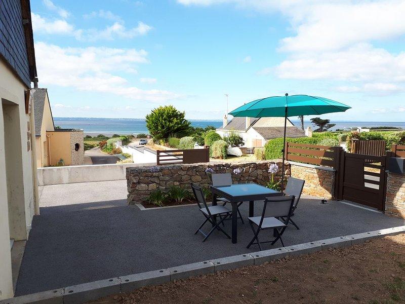 Pavillon plain pied, 150m de la mer et de la plage, vacation rental in Telgruc-sur-Mer